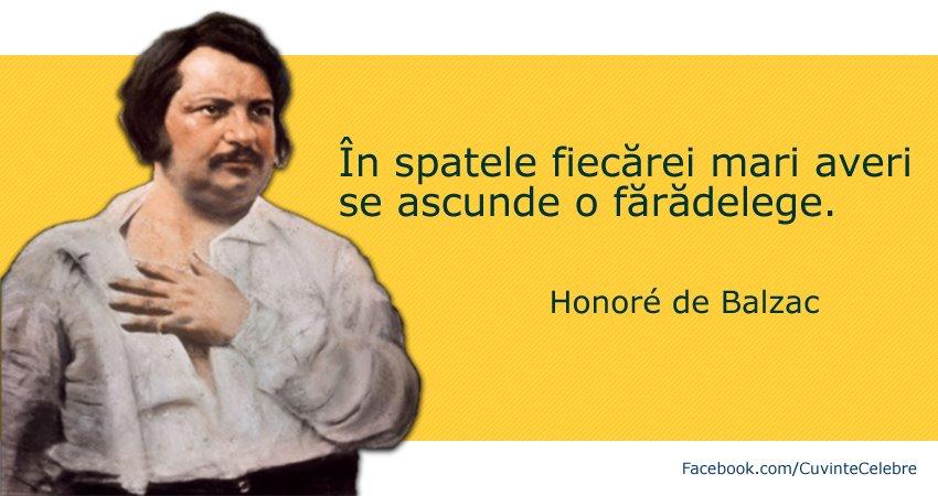 Citat de Balzac