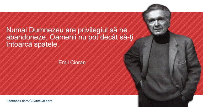 citate emil cioran Citat Emil Cioran despre Dumnezeu și oameni citate emil cioran