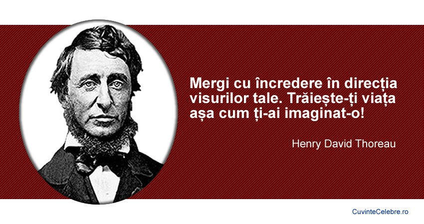 Citat Henry David Thoreau