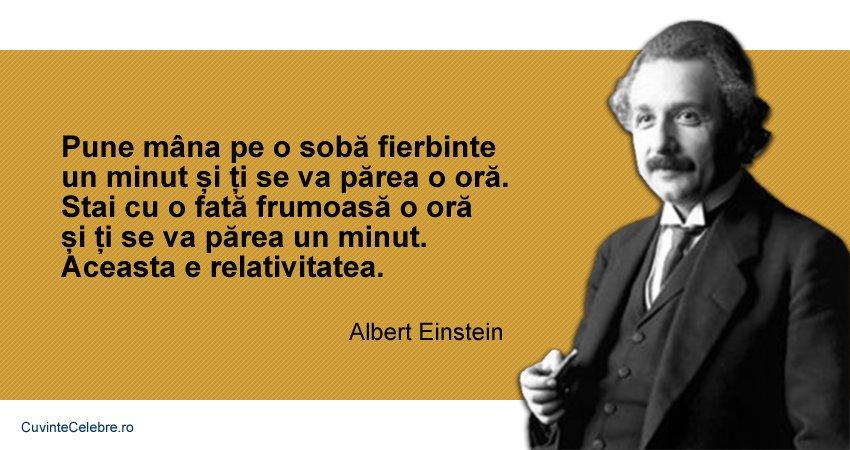 citate despre fete Relativitatea cu femei și sobe fierbinți, citat de Albert Einstein citate despre fete