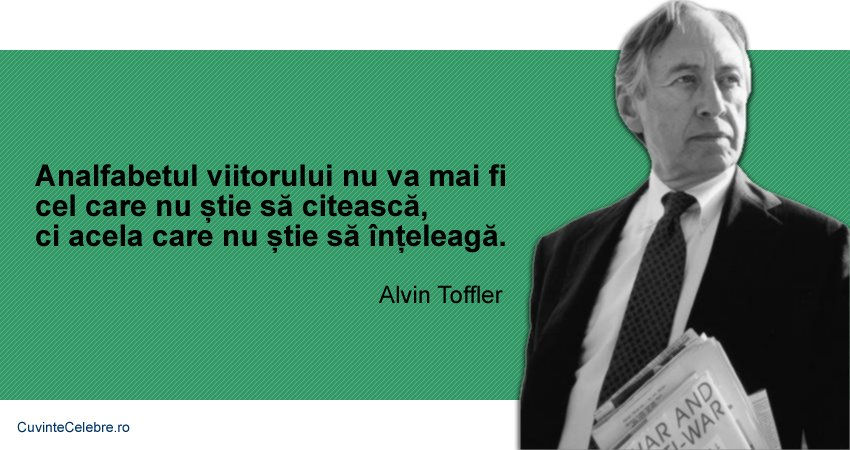 Citat Alvin Toffler