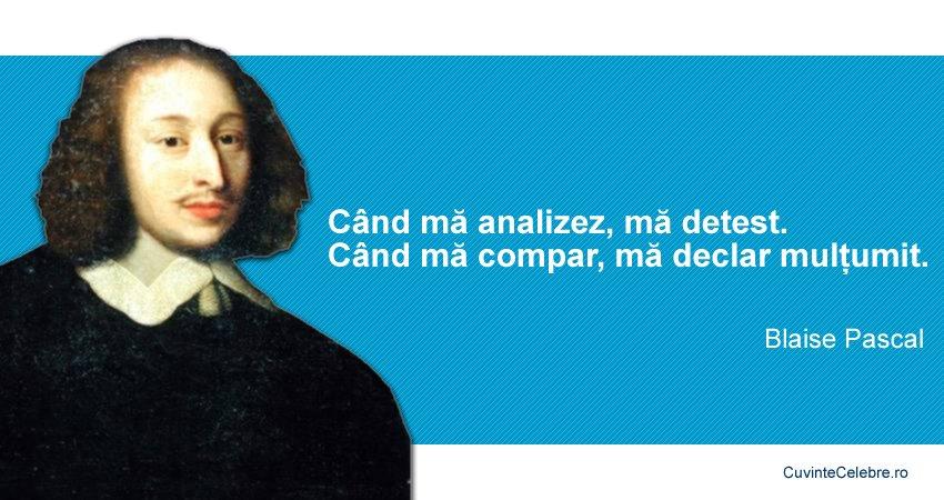Citat Blaise Pascal