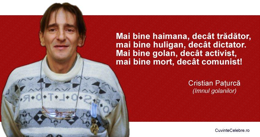 Citat Cristian Pațurcă