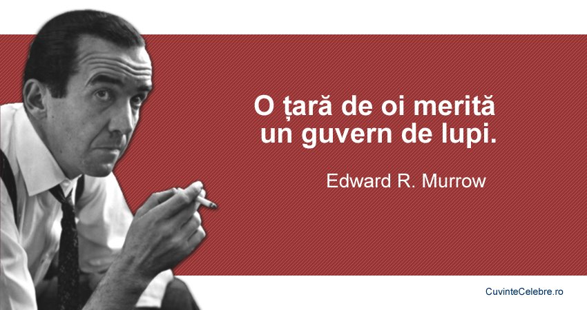 Citat Edward R Murrow