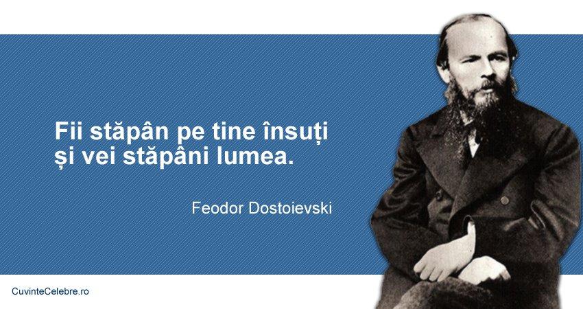 Citat Feodor Dostoievski