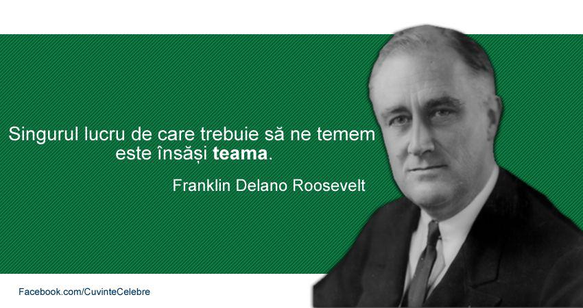 Citat Frank Delano Roosevelt