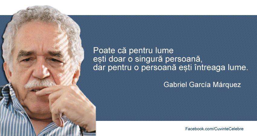 Citat Gabriel Garcia Marquez