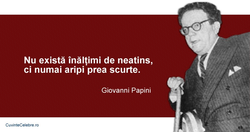 Citat Giovanni Papini