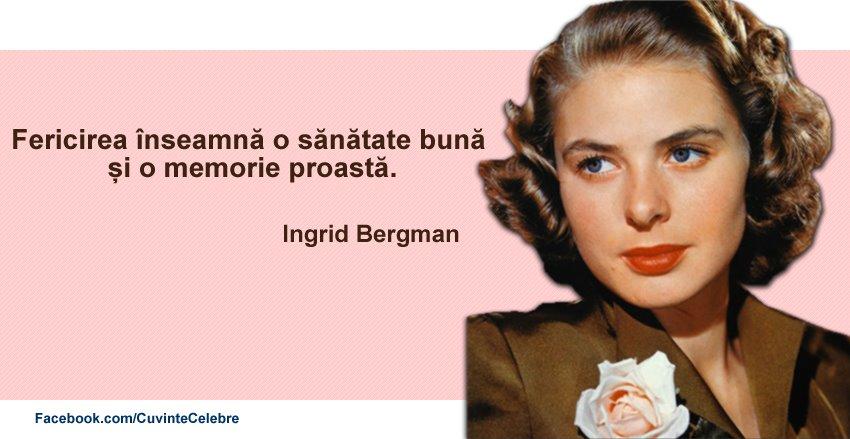 Citat Ingrid Bergman