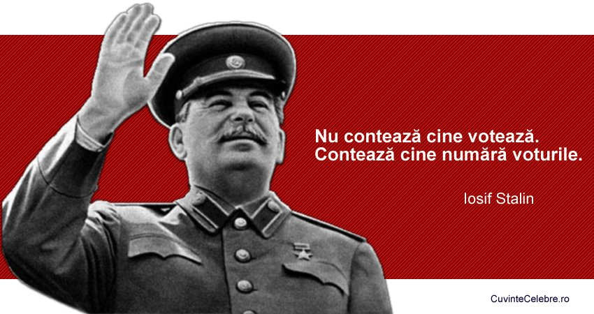 Citat Iosif Stalin