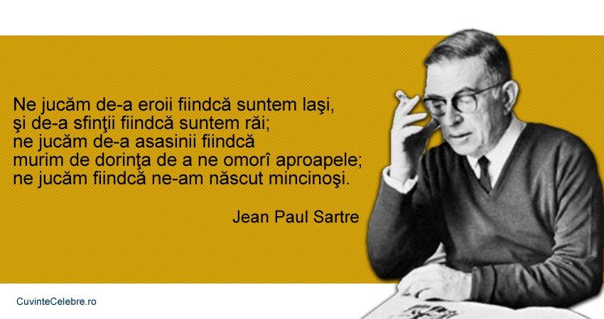 Citat Jean-Paul Sartre