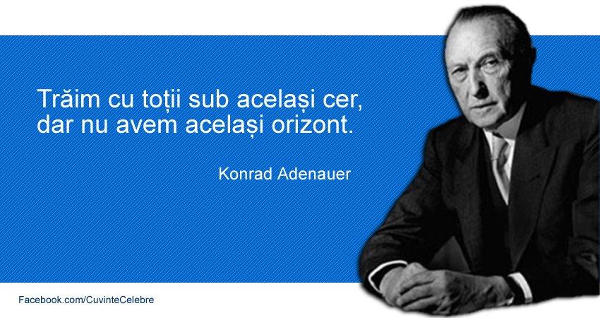 Citat Konrad Adenauer