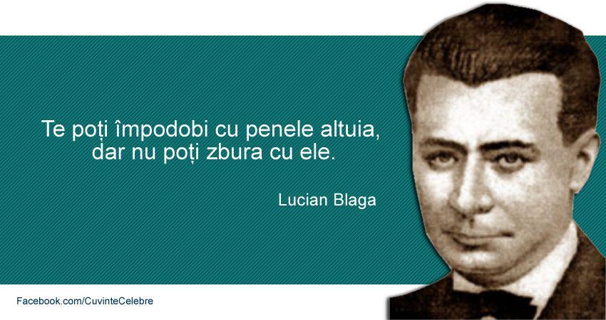 Citat Lucian Blaga