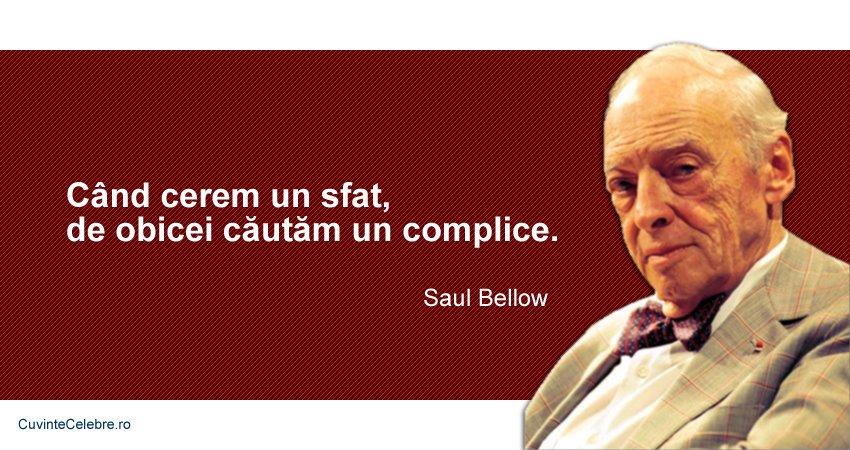 Citat Saul Bellow