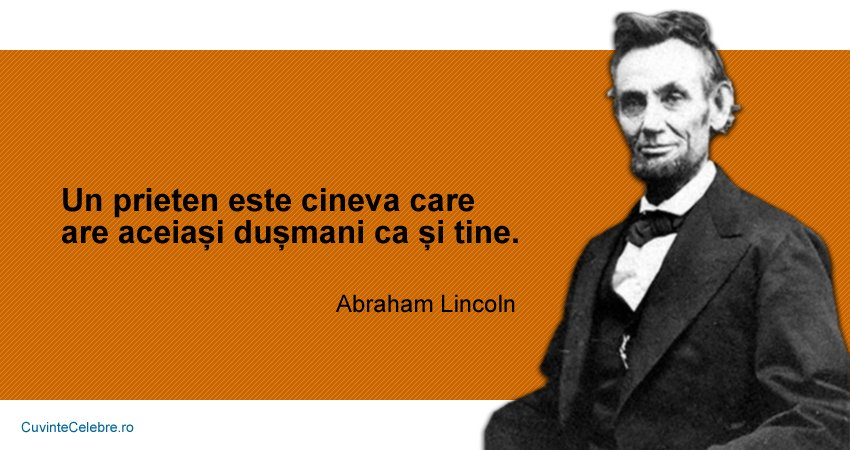 Citate Abraham Lincoln