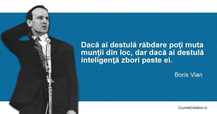 Citate Boris Vian