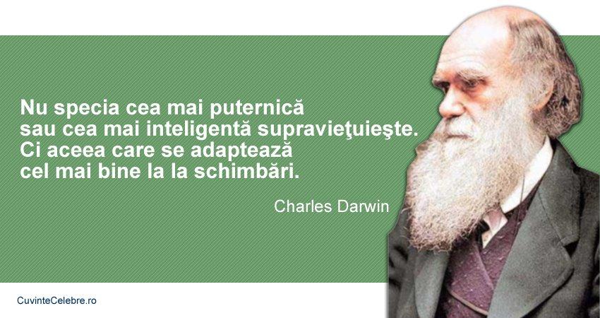 Citate Charles Darwin