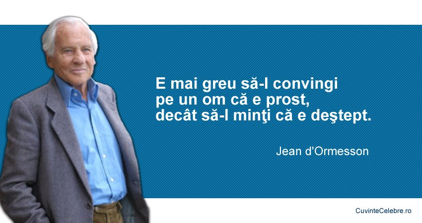 Citate Jean d'Ormesson