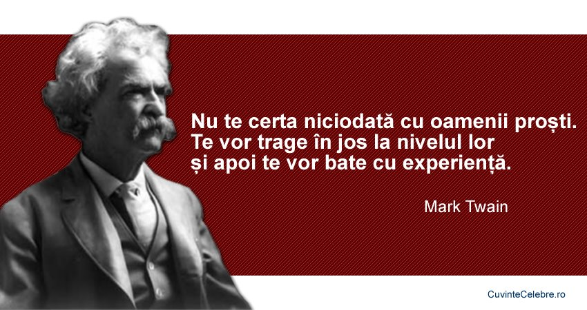 Citate Mark Twain