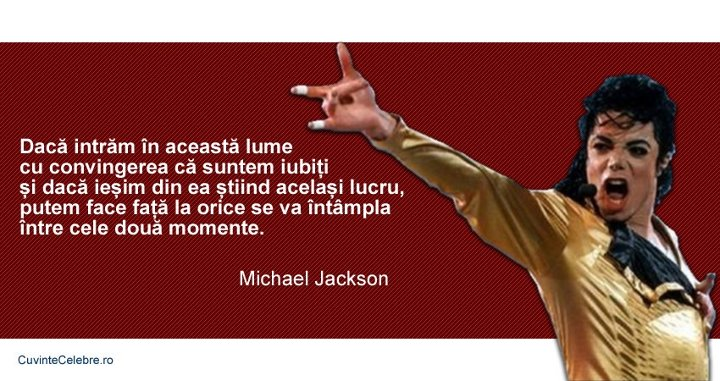 Citate Michael Jackson
