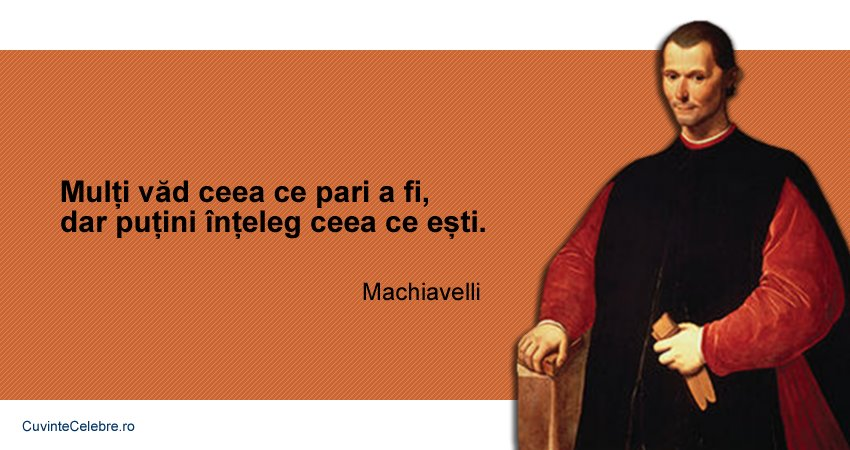 Citate Niccolò Machiavelli