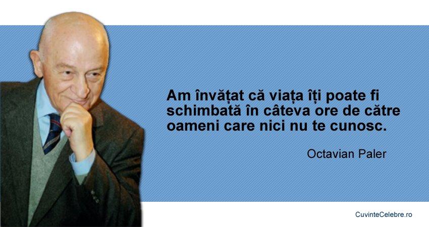 Citate Octavian Paler