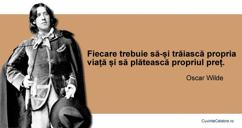 Citate Oscar Wilde
