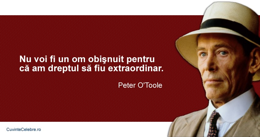 Citate Peter O'Toole