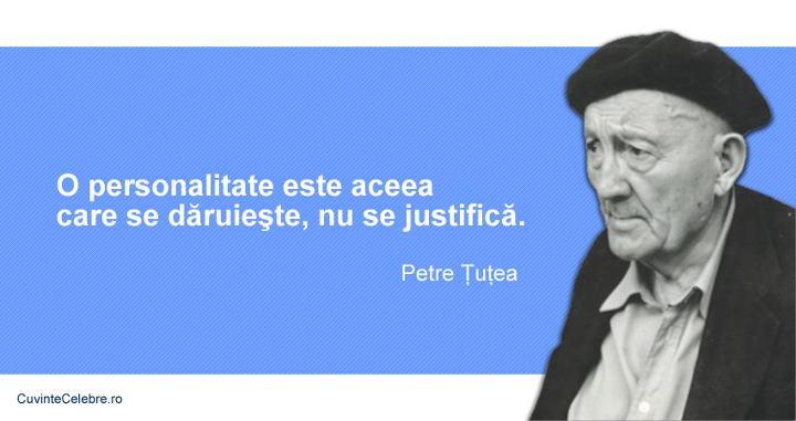 Citate Petre Tutea