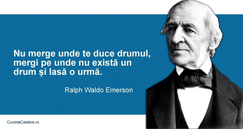 Citate Ralph Waldo Emerson