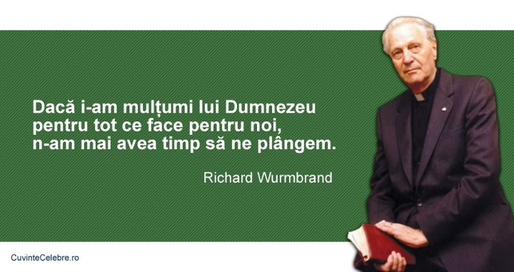 Citate Richard Wurmbrand