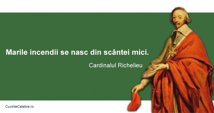 Citate Richelieu