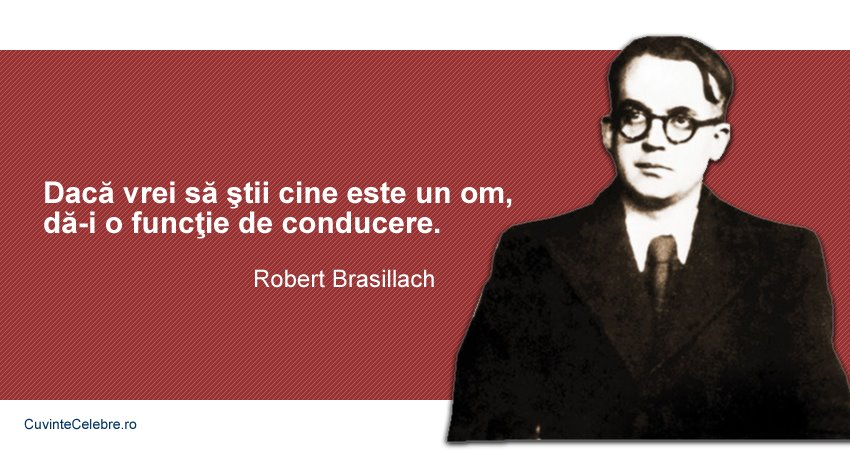 Citate Robert Brasilliach
