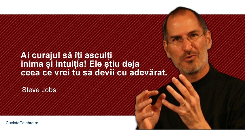 Citate Steve Jobs