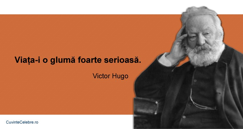 Citate Victor Hugo