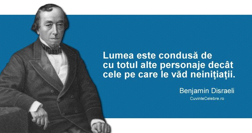 Citat Benjamin Disraeli