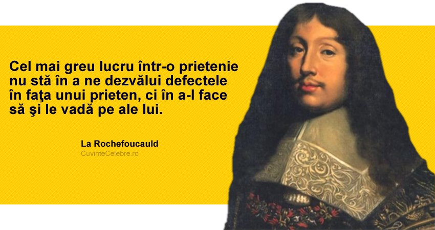 Citat Francois de La Rochefoucauld