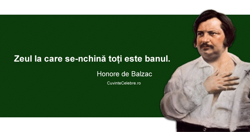 Citat Honore de Balzac