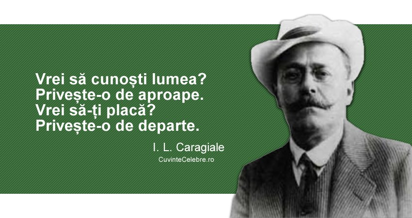 Citat I. L. Caragiale