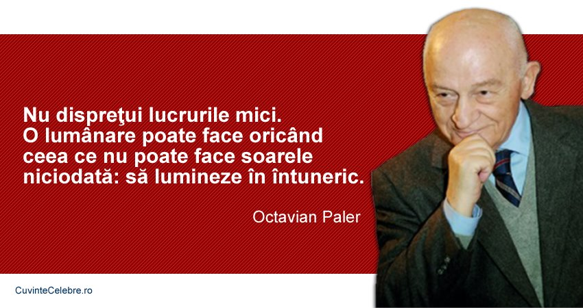 Citat Octavian Paler