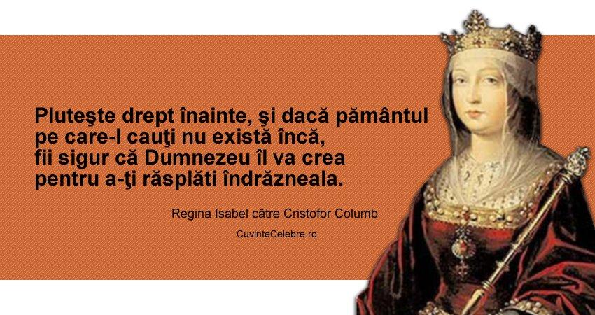 Citat Regina Isabel I