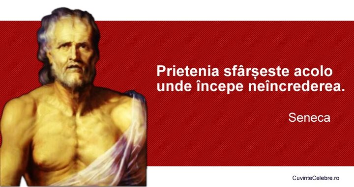 Citaten Seneca : Citate celebre despre neîncredere