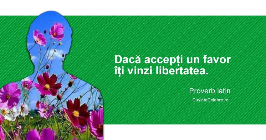Proverb latin