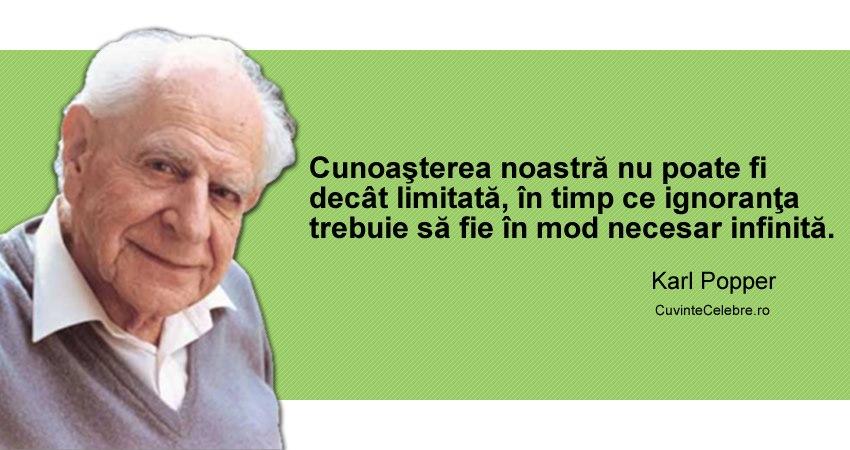 Citat Karl Popper