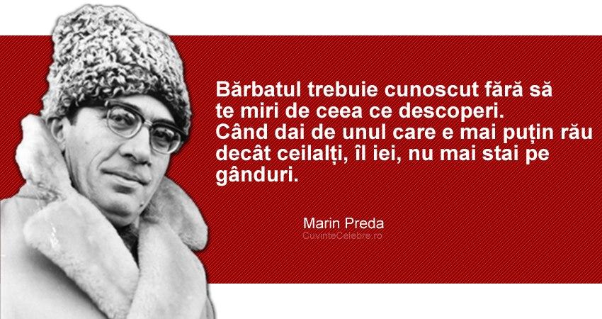 citate despre moromete Citate intelepte din operele scriitorului Marin Preda | La zi pe  citate despre moromete