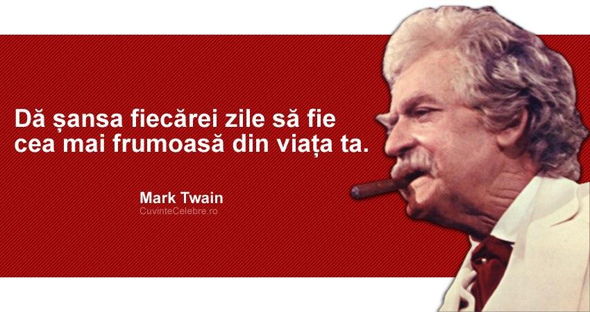 citate despre ziua de nastere Citate de Mark Twain citate despre ziua de nastere