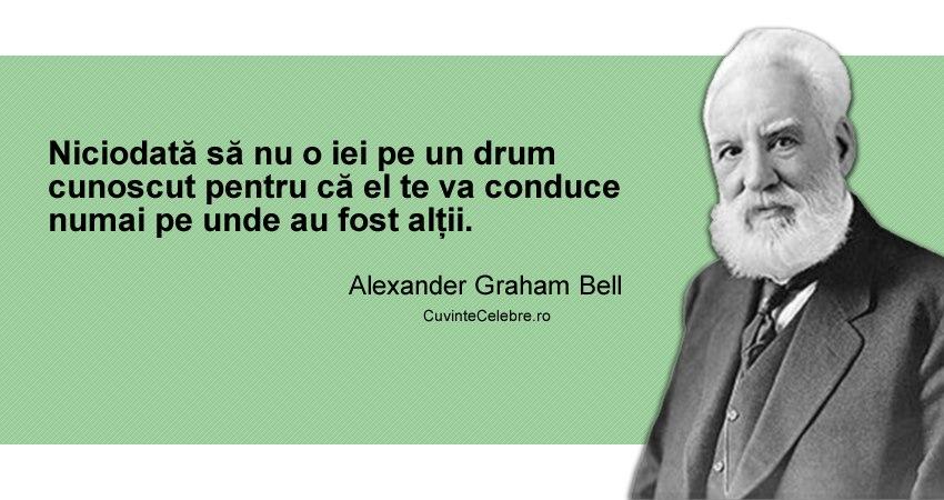 Citat Alexander Graham Bell