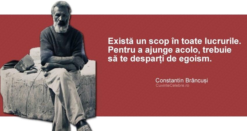 Citat Constantin Brâncuși
