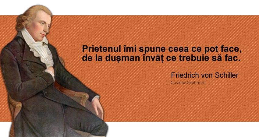 Citat Friedrich von Schiller