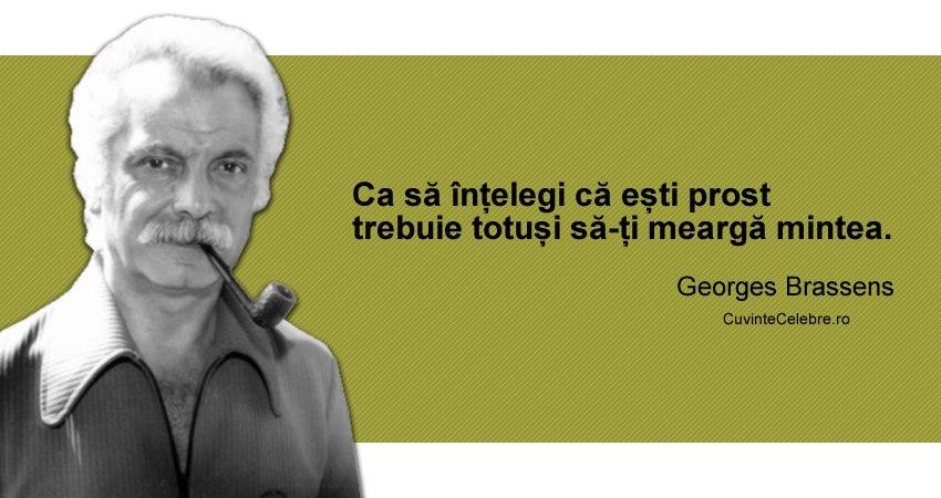 Citat Georges Brassens